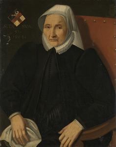 Portret van een vrouw uit de familie De Haling (Halinck)