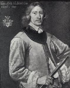 Portret van Tønne Reedtz (ca. 1620-1669)