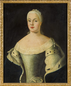 Portret van Ulrike Sophie Charlotte van Hessen-Homburg (1726-1792)
