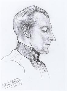 Portret van M. van Dorth