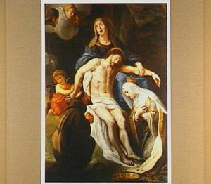 De bewening van Christus met de HH. Franciscus van Assisi en Elisabeth van Hongarije