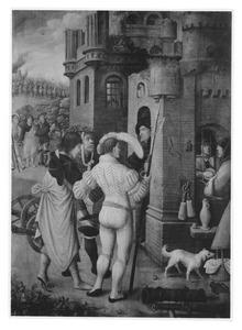 Rochus wordt voor spion uitgemaakt en gevangen genomen