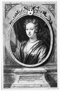 Portret van Elisabeth van Bleyswijck (1663-1728), echtgenote van Barthout van Slingelandt