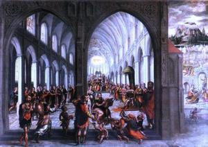 Allegorische voorstelling van de Kerk