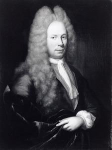 Portret van Hendrik Tatum ( -1734)