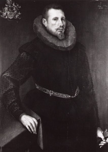 Portret van Willem Willemsz.van Vredenburch (1581-1616)