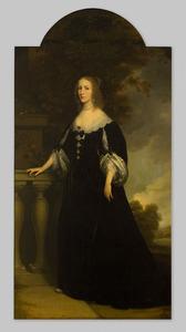 Portret van Agnes van Renesse van der Aa (1610-1661)