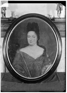 Portret van Anna Hesselt van Dinter ( -1692)