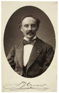 Portret van Jacobus Johannes Cremer (1827-1880)