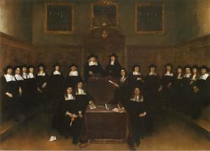 Groepsportret van de Magistraat van Deventer