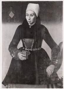 Portret van Kenou Jacobsdr te Joost (1584-1653)