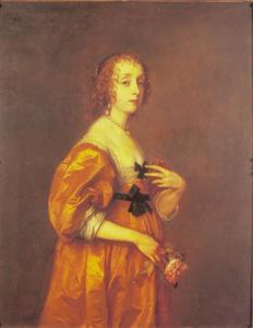 Portret van Mary Stewart, Duchess of Richmond en Duchess of Lennox (1622–1685), voorheen Lady Mary Villiers