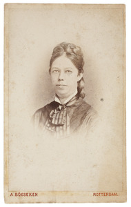 Portret van Christina Albertina Brunting (1853-1922)