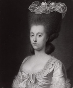 Portret van Frederica Christina Henriette Bentinck (1752-1822)