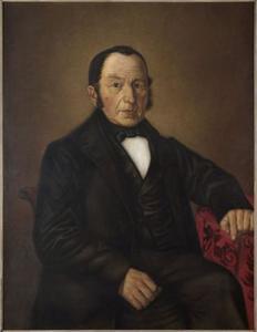 Portret van Stephan Joseph Brenninkmeijer (1798-1868)