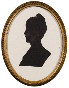 Portret van Adriana Sophia barones van Rhemen (1806-1842)