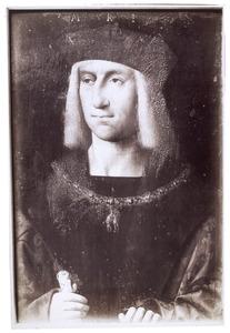 Portret van Maximiliaan I (1459-1519), Keizer van het Heilige Roomse Rijk 1493-1519