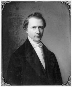 Portret van Josephus Wilhelmus Petrus Diert van Melissant (1823-1890), echtgenoot van Josephine Caroline van Sonsbeeck