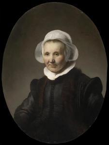 Portret van Aeltje Petersdr Uylenburgh