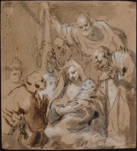 De aanbidding de herders (Lukas 2:8-20)