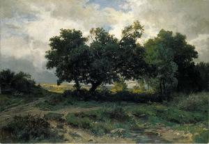 Landschap bij Barbizon