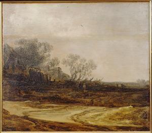 Landschap met boerderijen