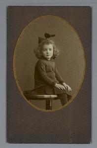 Jeugdportret van (mogelijk) het zusje van George Hendrik Breitner