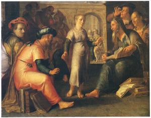 De twaalfjarige Christus tussen de schriftgeleerden