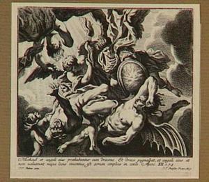 De val van de opstandige engelen (Openbaring 12: 7-9)