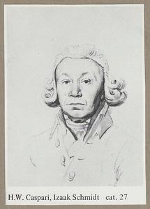 Portret van Izaäk Schmidt (1740-1818)