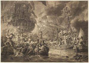 De zeeslag bij Chatham, 1667