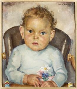 Portret van Bjorn Johan Reinhold Hendrik Roessingh