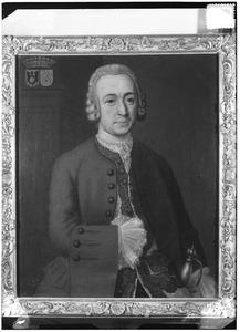 Portret van Evert Barthold Tjarda van Starkenborgh (1704-1787)