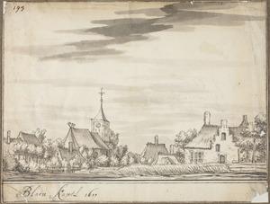 Het dorp Blauwkapel bij Utrecht