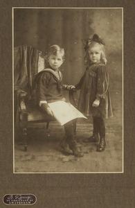 Dubbelportret van Hendrik en Jacomina van Walen