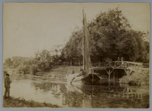 Koninginnegracht bij de Witte brug