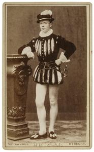 Portret van Hermannus Henricus Everts (1861-1942) als Jerosme van den Eijnde