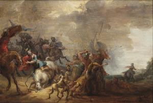 De bekering van Paulus op weg naar Damascus (Handelingen 9:3-6)