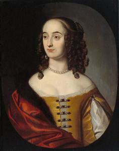 Portret van Henriëtte Marie van de Palts (1626-1651)