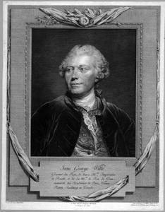 Portret van Johann Georges Wille (1715-1808)