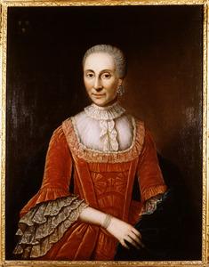 Portret van Alijda Johanna van Westervelt (1713-1802)