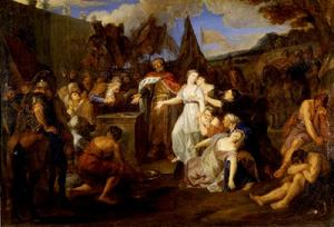 Het offer van Jephta's dochter