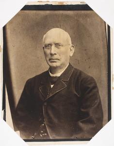 Portret van Theodorus Karel van Slingelandt (1828-1887)