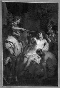 Het martelen van de H. Quinten met priemen