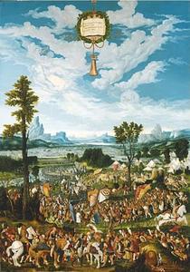 Horatius Cocles stopt koning Porsenna's leger buiten Rome