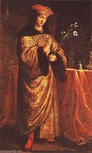 Portret van St. Casimir Jagiellonian (1427-1492)