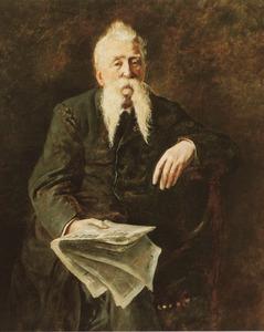 Portret van Abraham van Stolk (1814-1896)