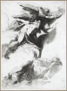De engel des wraaks gaat door het land Israël