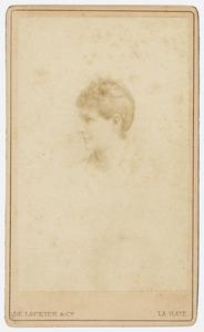 Portret van Elisabeth Louise van Idsinga (1861-1888)