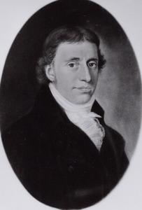 Portret van Theunes Haakma Tresling (1769-1828)